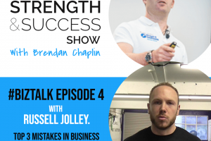 #032 My top 3 mistakes in business and how you can avoid them on your journey, with Russell Jolley