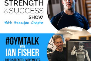 #011 #GYMTALK Episode 2: Fish is back and we are talking training around injuries, Top 3 strength movements and priming