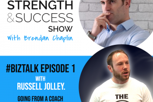 #023 A new show launches today called #biztalk We discuss branding, launching gyms and boutique fitness with Russell Jolley