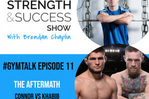 #038 Conor versus Khabib breakdown and the business of the UFC