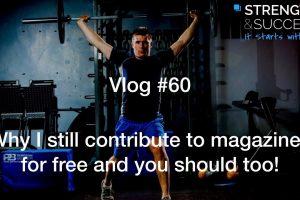 The Strength & Success VLOG #60