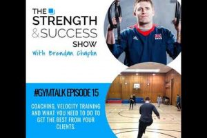 #053 Velocity Based Training and developing power and speed in your programmes