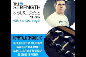 #062 Gymtalk – How to design your own training programme & make sure you're coach is doing it right!