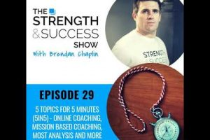 #060 5 topics in 5 minutes – Online coaching, mission based coaching, MOST analysis and more!