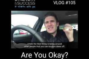 VLOG #105 – Are You Ok
