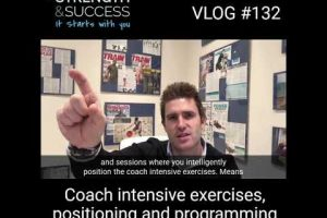 Coach intensive exercises, positioning and programming
