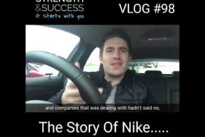 VLOG #98 – The Story Of Nike
