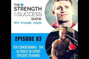 #083 TUF Conditioning- the ultimate in sport specific training
