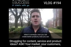 VLOG 194 – ASK is a powerful three-letter word……