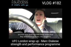 VLOG 182 – UFC London – Marc Diakese