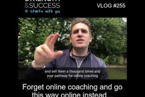 VLOG 255 | Forget online coaching and go this way online instead…