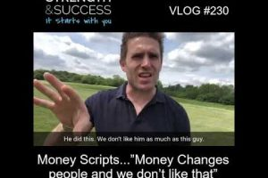 "VLOG 230 | Money Scripts…""Money Changes people and we don't like that"""